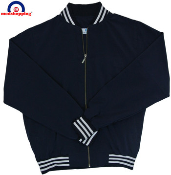 RETRO MOD 60'S MONKEY JACKET NAVY BLUE