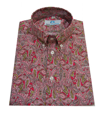 Multi Color Paisley shirt