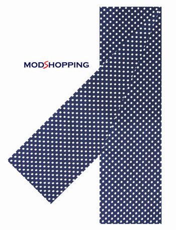 retro mod style small polka dot scarf for men, sale for online