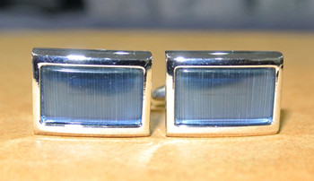 classic mod style sky color cufflinks sale for online, 60s
