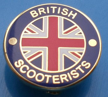 men's classical british scooterists pin badges at modshopping