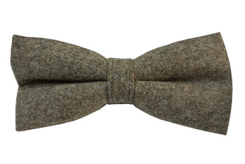 brown wool bow tie| men's classical neckties uk