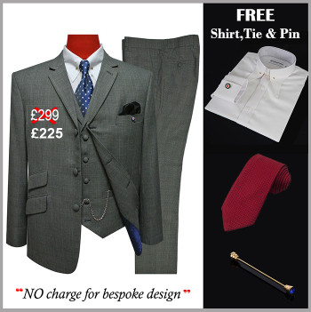 suit deals| uk mod clothing suit deals, buy 1 grey suit get free 3