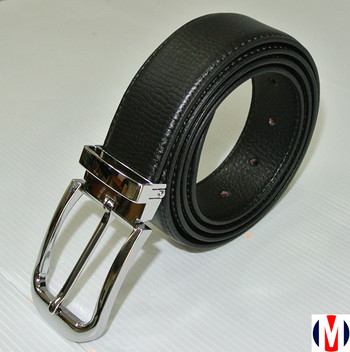 leather belts| executive black leather silver buckle suit belt for men
