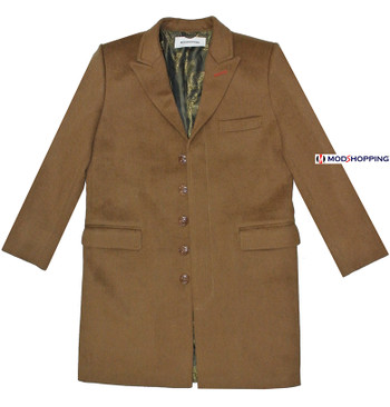 BROWN LADIES LONG WINTER COAT