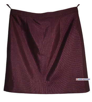 2Tone Burgundy Tonic Skirt