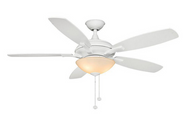Hampton Bay Springview 52 in. White Ceiling Fan