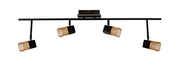 Hampton Bay Vega 3.6 ft. 4-Light Oil Rubbed Bronze LED Track Lighting