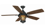 Hampton Bay Veranda II 52 in. Natural Iron Indoor/Outdoor Ceiling Fan