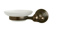 Glacier Bay Estates Wall-Mounted Soap Dish in Heritage Bronze