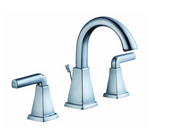 Glacier Bay 12000 Series 8 in. Widespread 2-Handle High-Arc  Faucet in Chrome