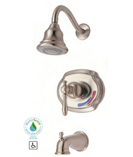 Glacier Bay Lyndhurst Single-Handle 1-Spray  Faucet in Brushed Nickel