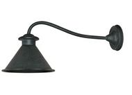 World Imports Dark Sky Essen 1-Light Outdoor Rust Wall Lamp