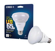 QTY 8 / CREE 65W Equiv. Soft White (2700K) BR30 Dimmable LED Flood Light Bulb