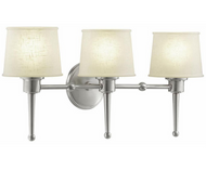 Hampton Bay HB472657DI Architect Collection Brushed Nickel 3-light Vanity Fixture