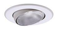 (4) Halo 5 in. White Recessed Lighting Adjustable Eyeball Trim