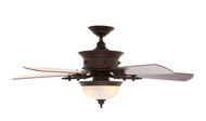 Hampton Bay Dawson 54 in. Weathered Copper Ceiling Fan *Scratch