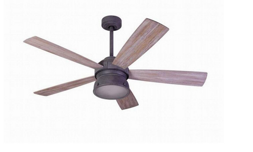 Progress Lighting Archie Collection 26 25 In 3 Light: 52 In. Indoor/Outdoor Weathered Gray Coldbrook Ceiling Fan