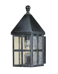Holland 1-Light Mediterranean Bronze Outdoor Small Wall Lantern