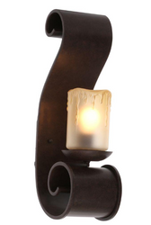 Adelaide Collection Outdoor Bronze Medium Sconce