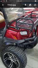 Mounts on side and in front on bumper for sturdiness