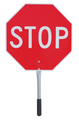 "456 Traffic Stop/Slow Paddle 18"""