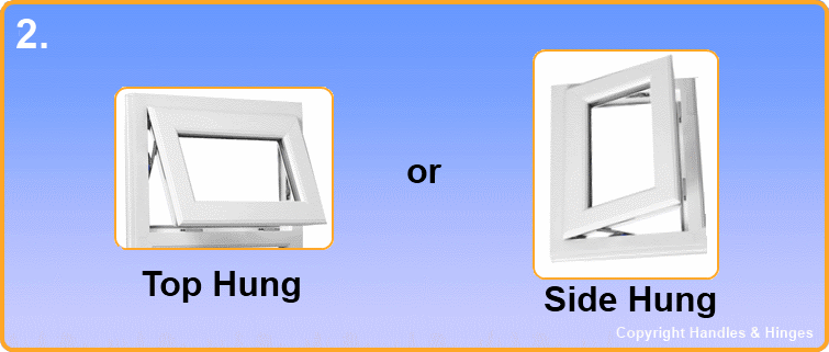 Handles and Hinges measuring guide for window hinges