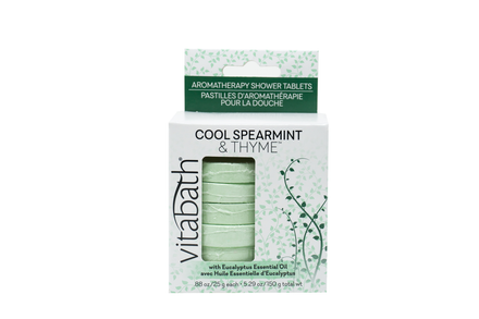 Cool Spearmint & Thyme™ Aromatherapy Shower Tablets 5.29 oz/150g