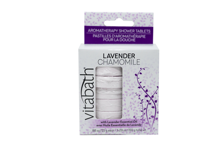 Lavender Chamomile Aromatherapy Shower Tablets