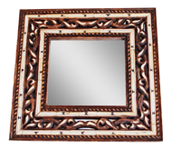 Moroccan Bone Mirror