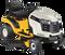 2013 - CUB CADET LTX 1042 KW - 18HP KAWASAKI 42 INCH RIDING LAWN MOWER