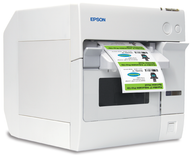 Epson ColorWorks TM-C3400 color label printer (Ethernet)