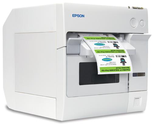 Epson ColorWorks TM-C3400 color label printer (Ethernet)