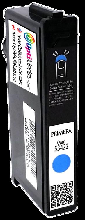 Primera LX900 Dye Cyan Ink Cartridge, High-Yield - 53422