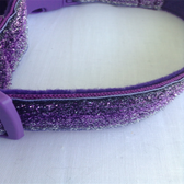 "Purple Dog Collar 12""-18"""