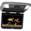 Provide your backseat passengers with front-row quality entertainment with the this Movies2Go overhead system. Entertain your rear seat travelers with their favorite movies or content from their personal media devices (USB and SD card supported). Don't worry about trying to match the interior of your car as this overhead comes with 3 different colored interchangeable trim rings Shale, Pewter and Black.