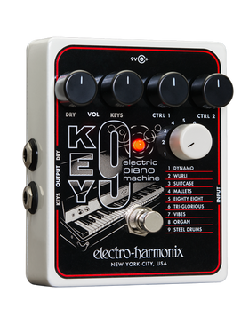 Electro Harmonix Key 9 Electric Piano Machine Guitar Pedal