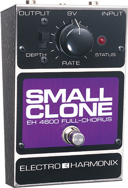 EHX Small Clone Chorus Pedal | Electro-Harmonix Effects - Northeast Music Center