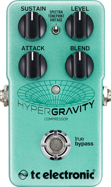 TC Electronic Hyper Gravity Compressor Pedal with Toneprint (960813001)