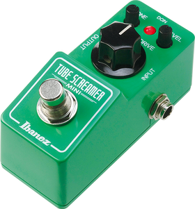 Ibanez Tube Screamer Mini Overdrive Pedal (TSMINI)