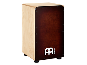 Meinl Woodcraft Cajon with Baltic Birch Body and Espresso Burst Frontplate