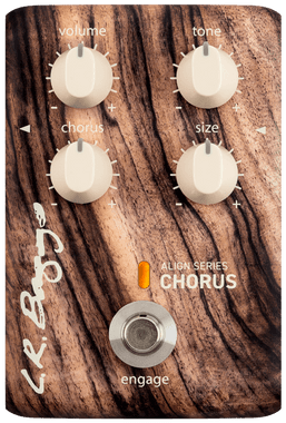 L.R. Baggs Align Series Chorus Pedal | LR Baggs Acoustic Guitar Effects Pedals - Northeast Music Center inc.