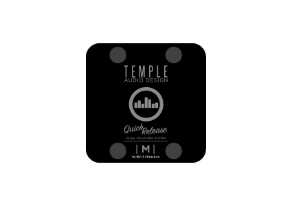 Temple Audio mountings Medium plates for T series pedal Boards
