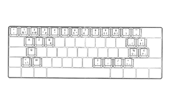 KeyCaps - Pro L ABS - BE Layout
