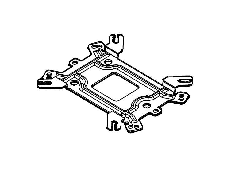 Backplate (with AM4 support)