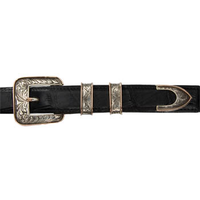 Comstock Heritage 4pc. Pitkin 14k RW Buckle Set