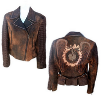 Kippy's Mina Moto Jacket with Armor Sleeves