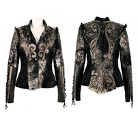 Kippy's Tattoo Marionette Jacket with Elastic Sides