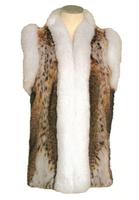 Lynx Vest with Fox Trim