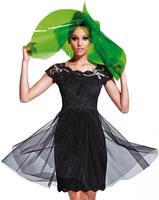 Olvi's Trend Black Lace Dress